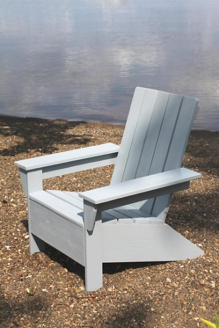 Modern Adirondack Chair Plans Ideas For Don Pinterest