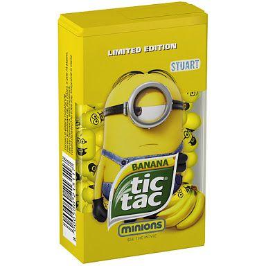 banana minion tic tac - Google Search