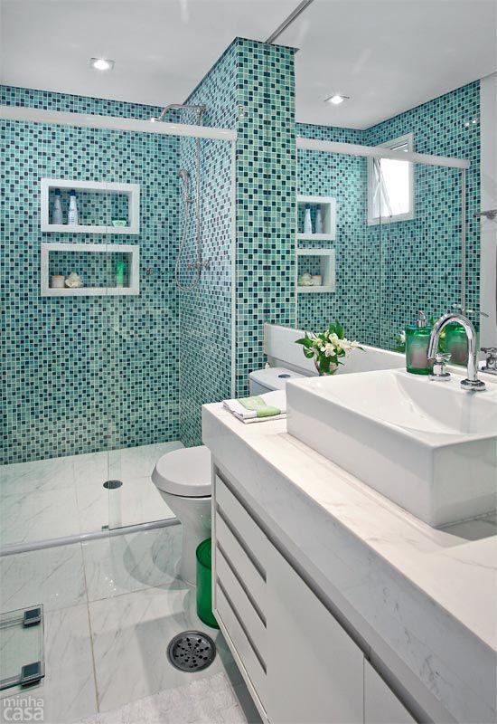 Apê de 58 m² ganha marcenaria, pastilhas e itens reciclados - Casa