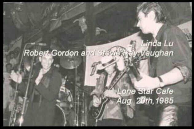 🎵'''💞Robert Gordon.👑. & Stevie Ray Vaughan.👑. & Chris Spedding.👑...😎...🎸💞'''🎵 Recorded at the Lone Star Cafe in NYC on Aug.20th,1985 https://www.facebook.com/groups/RobertGordonInternationalFanClub