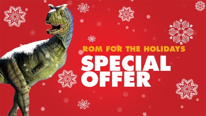 ROM for the Holidays - Special Offer