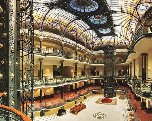 ELLE DECOR GOES TO MEXICO CITY - The Gran Hotel Ciudad de México.