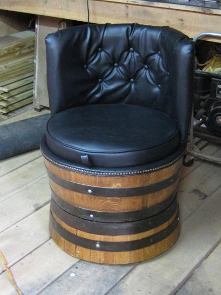 174 best repurposed old wine barrels images on pinterest. Black Bedroom Furniture Sets. Home Design Ideas