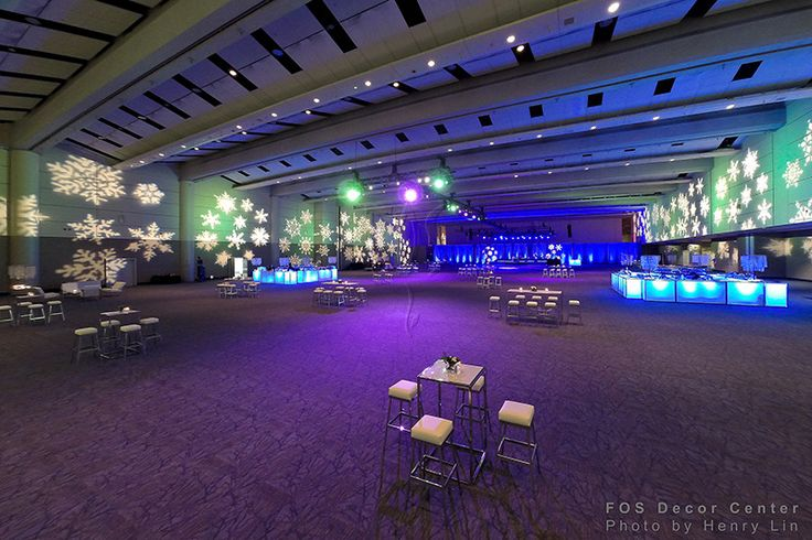 FOS Decor - Corporate Holiday Party #corporate #event #eventdecor #holidayparty #holidaydecor