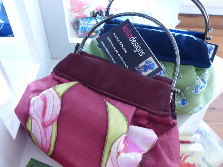 Silken handbag by Koko Design
