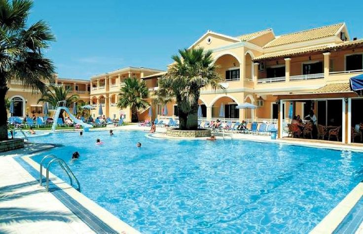 Lagoon Apartments in Sidari Corfu Greece