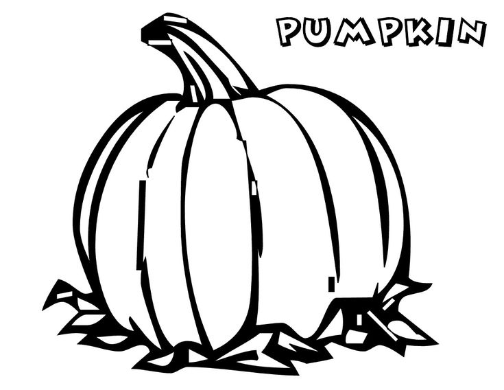 faceless pumpkin coloring pages - photo#41
