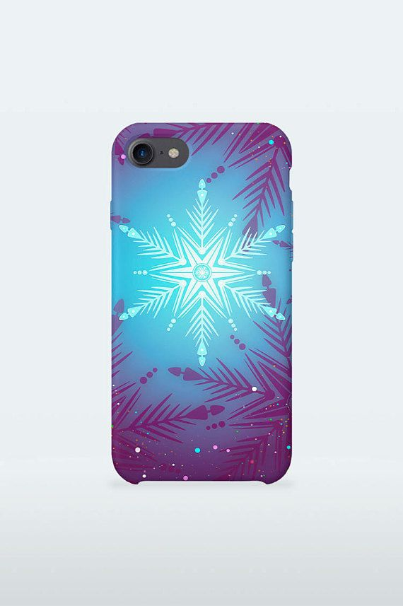 Blue Christmas Mobile Case Art Winter Holidays design for for iPhone Samsung Galaxy 3D Print full wrapped hard plastic back shell cover  iPhone 4 / 4S iPhone 5 / 5S iPhone 5C iPhone SE iPhone 6 iPhone 6S iPhone 6 Plus iPhone 6S Plus iPhone 7 iPhone 7 Plus  Samsung Galaxy S5 / S5 mini