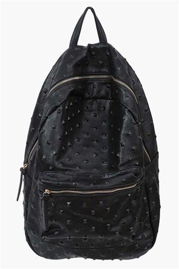 Simple Spike Backpack in Black