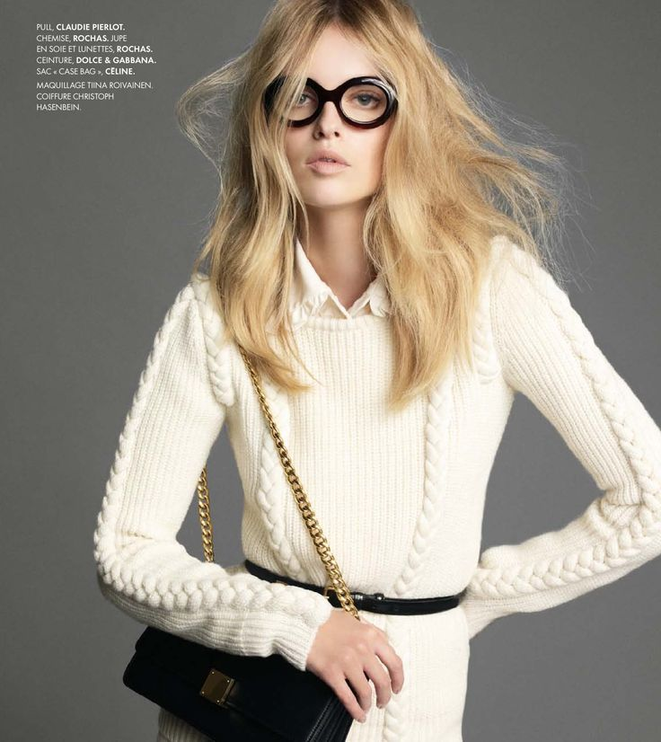 Rochas Frames. From French Elle.