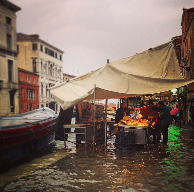 During the Autumn/Winter season we could find days with Acqua Alta. Only last for a few hours and it is an experience when visiting Venice.
