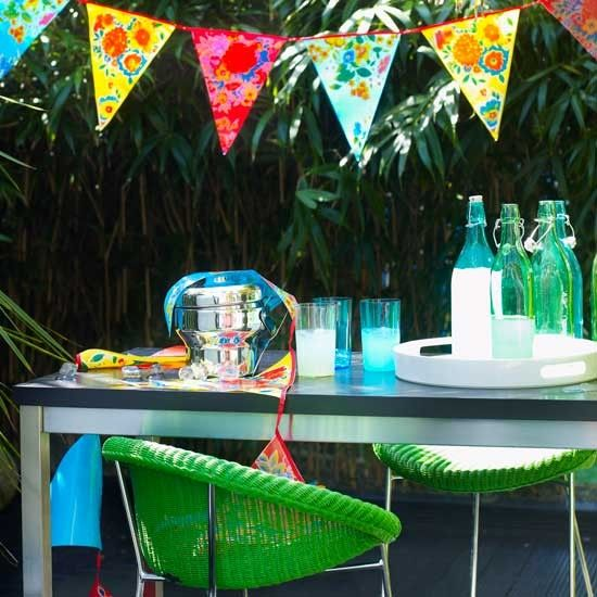 Bunting template, how to make bunting