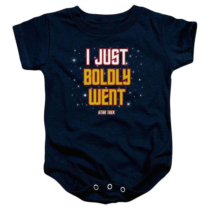 "Star Trek Baby T-Shirt /""Clean Me Up Scotty/"" Funny Gift Beam Me Up Boy Girl"