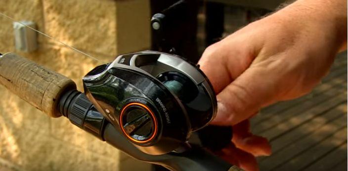 how to spool a baitcasting reel