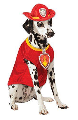 Paw Patrol Marshall Dog Costume, Medium