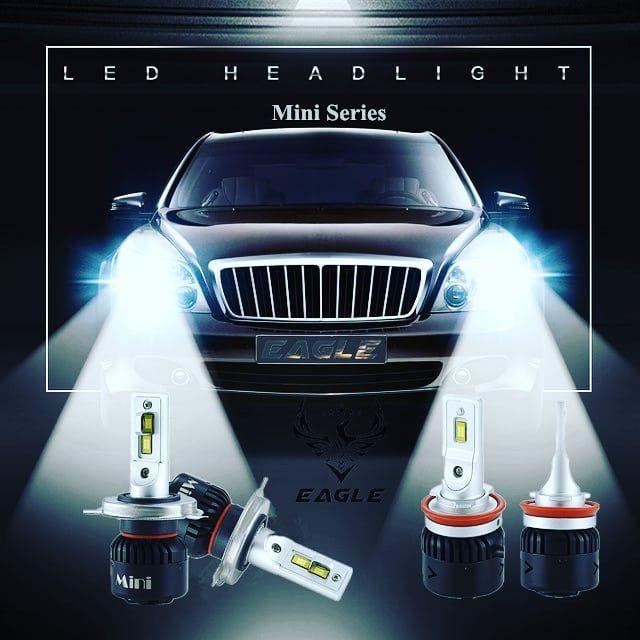 2pc Philips Led Chips Double Lamp 24pc Led Headlights Cars Led