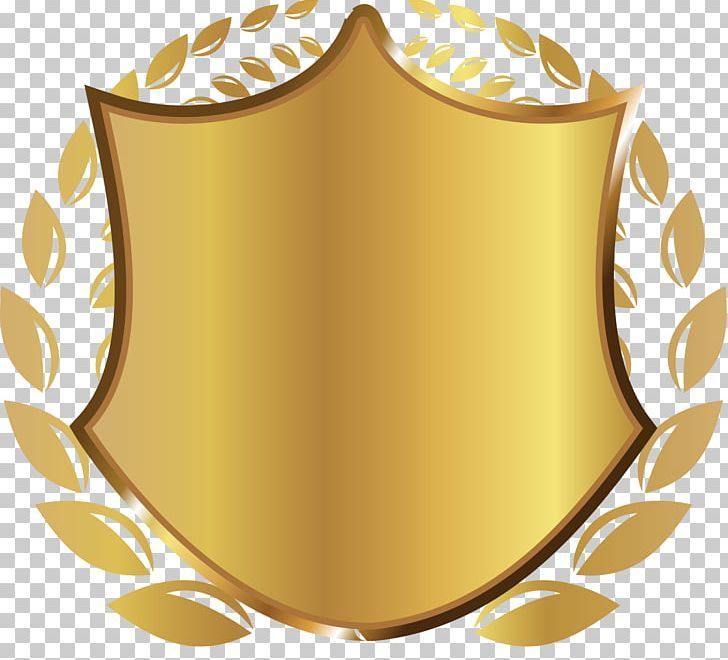 Gold Shield Rice Png Atmosphere Badge Download Escutcheon Gold Rice Png Png Shield