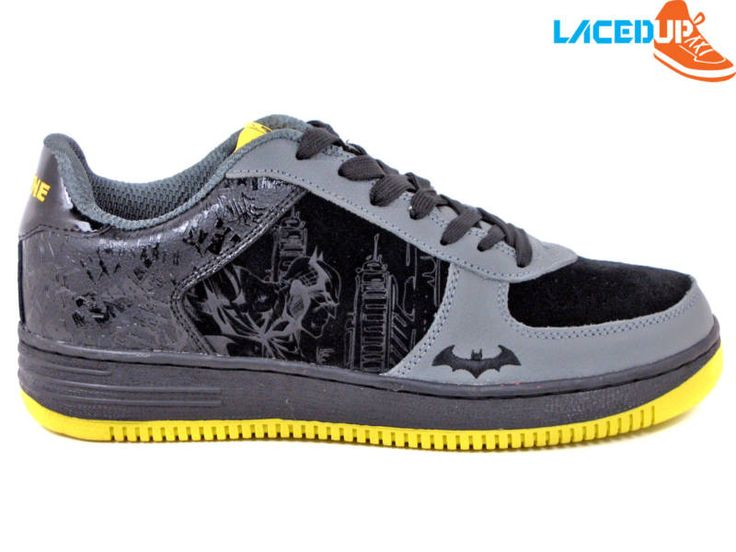 DC COMICS DARK KNIGHT BATMAN SHOES AF1 BRUCE WAYNE