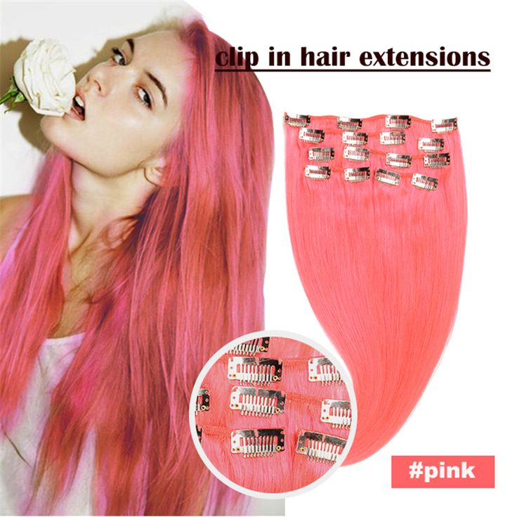 Aliexpress.com : Buy Top Quality Brazilian Virgin Hair Clip In Extensions 16inch 24inch Full Head Clip In Human Hair Extensions Human Hair Clip Ins from Reliable clip in fringe extension suppliers on Perfect Human Hair Store  | Alibaba Group