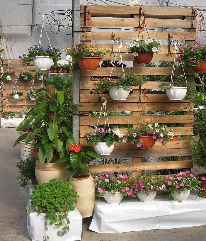 Vertical Pallet Container Garden