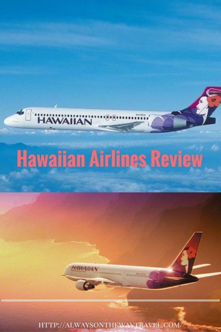 Hawaiian Airlines Review - Hawaii to California