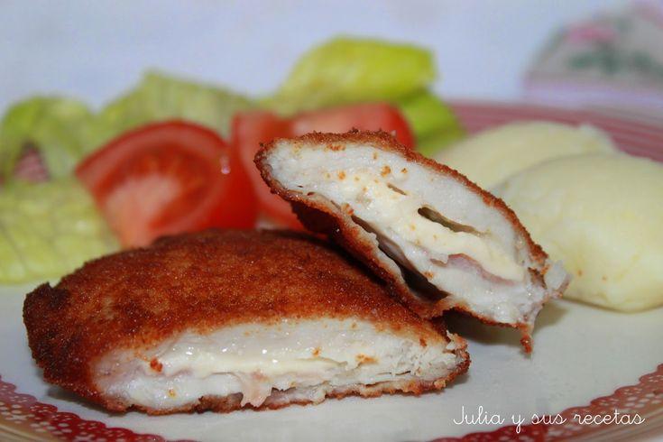 San Jacobos de pollo del blog Julia y sus recetas