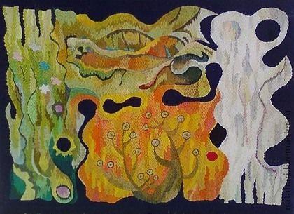 Вышитая картина - Времена года. ВРЕМЕНА ГОДА    У одной сестрицы волос -  Золотой тяжелый колос,  У другой в тугие косы  Вплетены гроза и росы.  Третья с огненной косою  Вьет себе венок с листвою.  А четвертая - блондинка  Заколола локон льдинкой    Автор:…