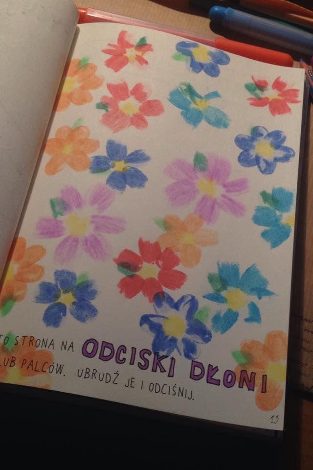Podesłała Magdalena Malinowska #zniszcztendziennikwszedzie #zniszcztendziennik #kerismith #wreckthisjournal #book #ksiazka #KreatywnaDestrukcja #DIY