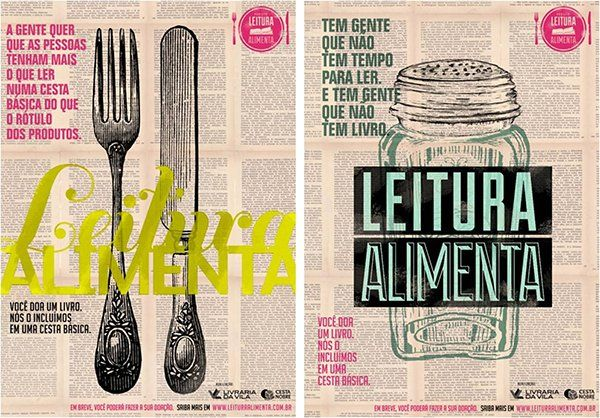 [Literatura] fome de leitura: o incrível projeto #leituraalimenta                                                                                                                                                     Mais