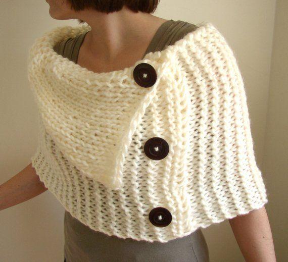 shrug...could crochet
