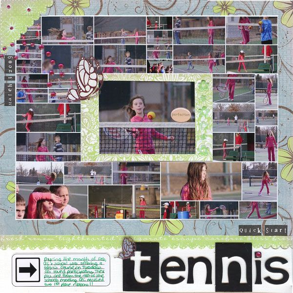 Quick Start Tennis - Scrapbook.com