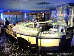 Oyster & champagne bar