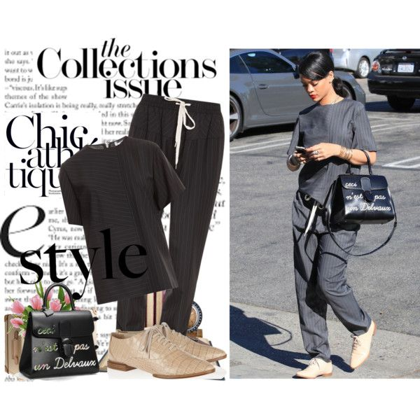 Untitled #615 by samha on Polyvore featuring Alexander Wang, Delvaux, J.Crew, Study and Rihanna