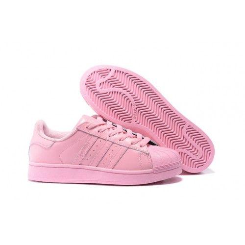Goedkoop Licht Roze/Licht Roze/Licht Roze Dames Originals Superstar Supercolor Pack Adidas Schoenen Outlet Nl