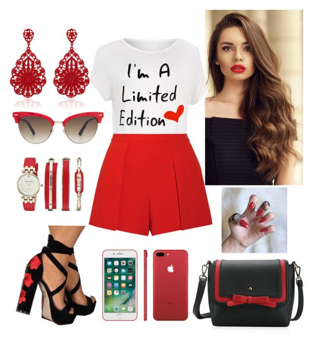 """""""I'm a limited edition! ❤❤"""" by paoladouka on Polyvore featuring WearAll, Alice + Olivia, Anne Klein, WithChic, Gucci and plus size clothing"""