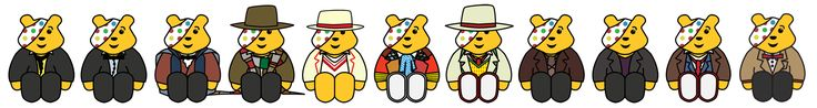 Pudsey...the doctor. #doctorwho ?
