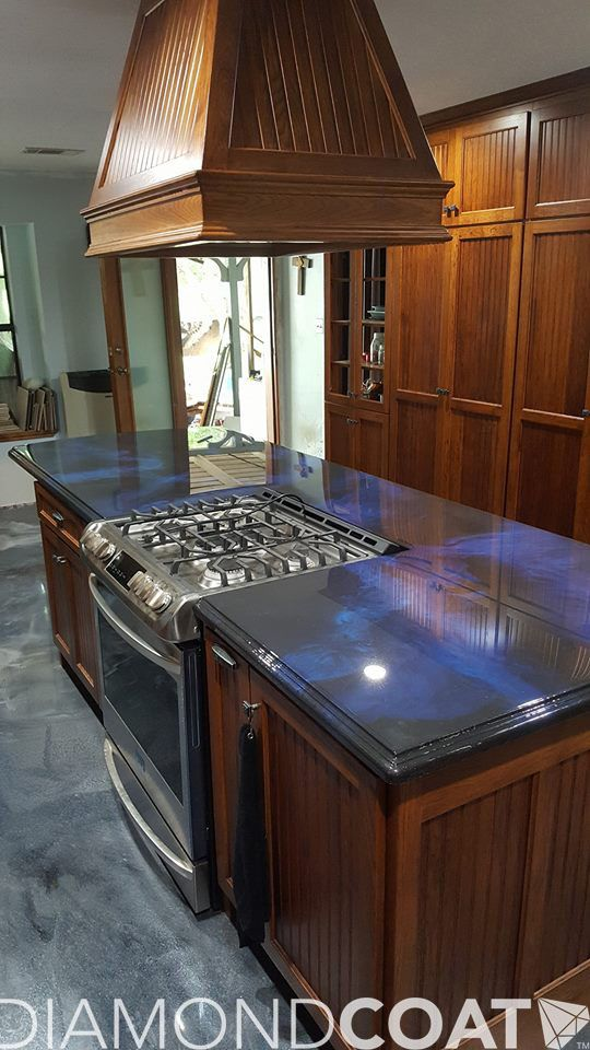 77 Best Kitchens Images On Pinterest Epoxy Countertop