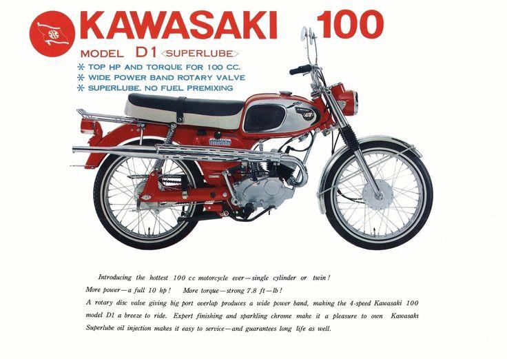 66'kawasaki D1-t