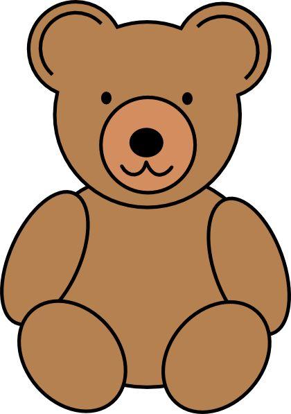 teddy bear clip art pinterest - photo #4