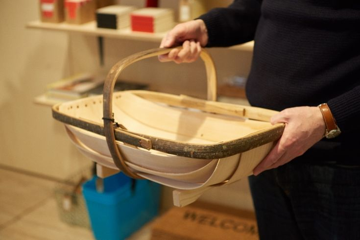 Sussex Trug, image taken at Labour and Wait Tokyo Shop.
