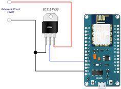 How to Power NodeMCU ESP-12E Board | Henry's Bench