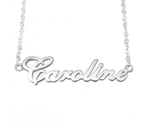 gold personalised plated is necklace name s details gifts personal about sofia loading image itm