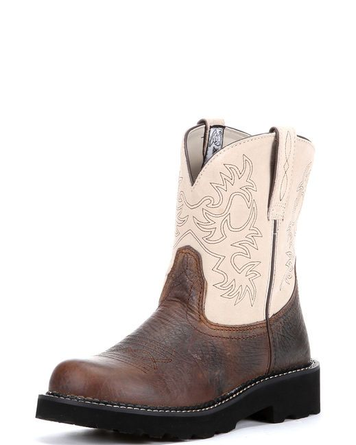 Ariat Women's Fatbaby Boot - Earth/Bone  http://www.countryoutfitter.com/products/16164-womens-fatbaby-boot-earth-bone