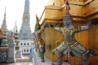 Tailandia: Gran palacio Real de Bangkok