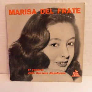 Marisa Del Frate, Armando Fragna E La Sua Orchestra* - 5° Festival Della Canzone Napoletana (Vinyl) at Discogs