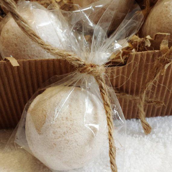 Natural Mini Bath Bombs Fizzies Gift Box by SkinSafariBotanicals