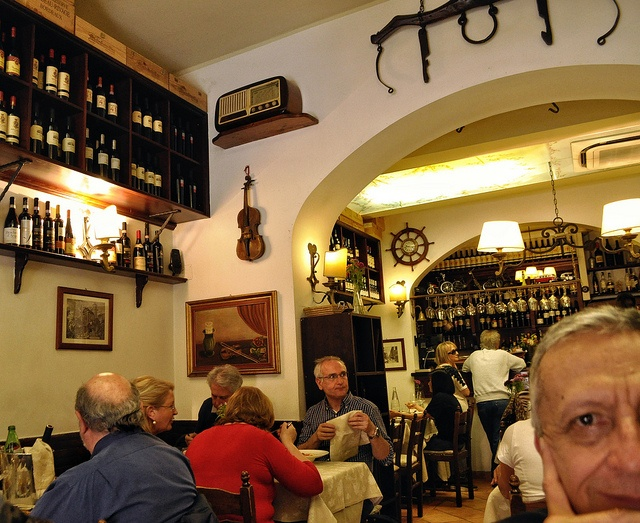 Excellent restaurant!!! La Buca di Ripetta, Rome