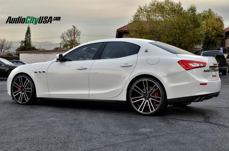 2015 Maserati Ghibli Q4 by Audio City USA in La Puente CA . Click to view more photos and mod info.