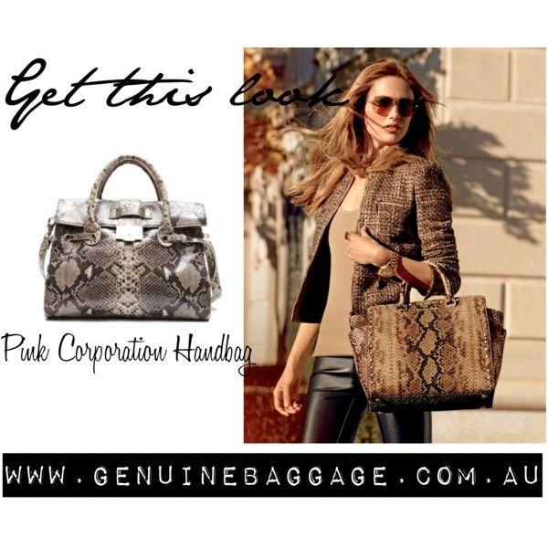 Handbag by Pink Corporation