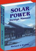 The Solar Power Design Manual covers the design, installation and operation of stand-alone solar power systems worldwide.